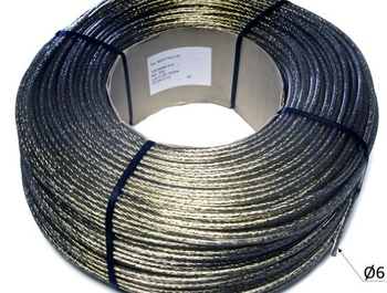 PVC sheathed steel cable